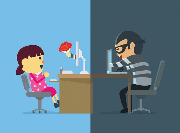 Male fraudsters are setting up profiles of women on dating sites to attract and manipulate vulnerable victims.
